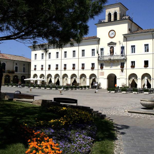 piazza Garibaldi a Cervia